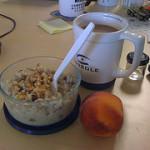 Zdravá snídaně = Ovesná kaše