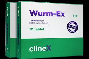 K odčervení a lepšímu zdraví vám pomůže Wurm-Ex! Vyzkoušejte jej!