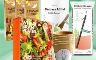 Ekologické jednorázové jedlé nádobí potěší Zemi, oči i chuťové pohárky